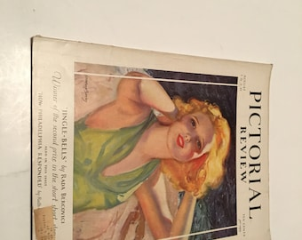 august 1930 pictorial review magazine