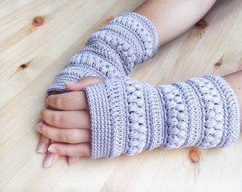 Crochet Pattern - Fingerless Gloves - PDF Pattern - Mittens - Accessories Yarn - Download - #2