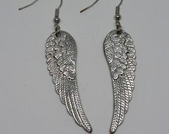 Charming wings earrings