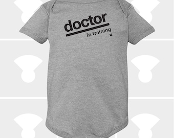 Baby Onesie, Doctor In Training, Future Doctor, Funny Onesie, Baby Shower Gift, Personalized Onesie, Baby Boy, Baby Girl Clothes, Newborn