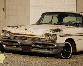 Old Desoto  in Sepia Classic car Classic Cars  Photograph Great for  Garage or  Man Cave Masculine Print Wall Hanging Home Decor