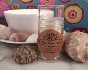 Summer Parfum Solid Lotion Bar