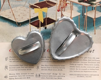Vintage Heart Cookie Cutters | Set of 2
