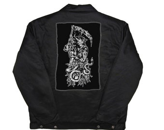 Wolf of Death - Punk Back Patch
