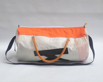 Recycled sail weekend bag