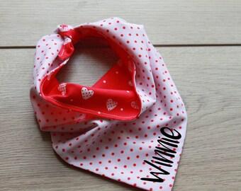 Personalised Reversible Tie Dog Bandana, Pet accessory, Bandana, Reversible Pet Bandana, Puppy Bandana, Dog Scarf,  Dog Gift, Neckerchief