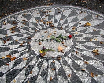 Imagine Mosaic - Strawberry Fields, Central Park NYC