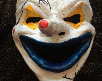 Cracked Clown Mask