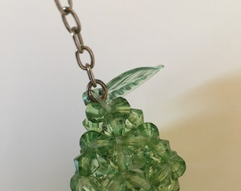 3D Green Pear Bead