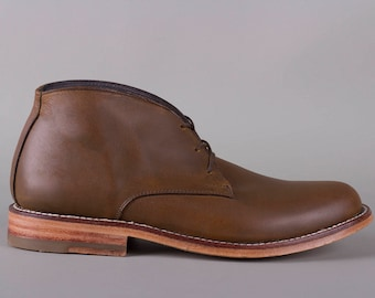 Chukka Boot (Oiled Maple)