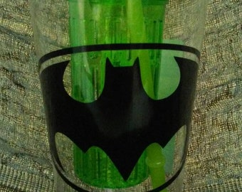 Green tumbler with infuser