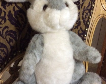 Easter Bunny Plush, Avanti, with tags, 1984 Applause Collectible, No. 3205, Designed by Jockline, Italy
