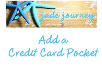 Add a Credit Card Pocket