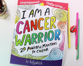 Cancer Coloring Book Cancer Support Gift Radiation Treatment Chemotherapy Gift Chemo Support Cancer Support Breast Cancer Gift Self Care