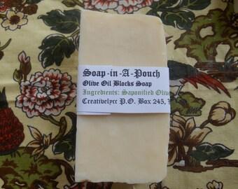 Large Olive Oil Block Soap