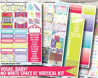 Vegas, Baby! Planner Stickers - No White Space Kit