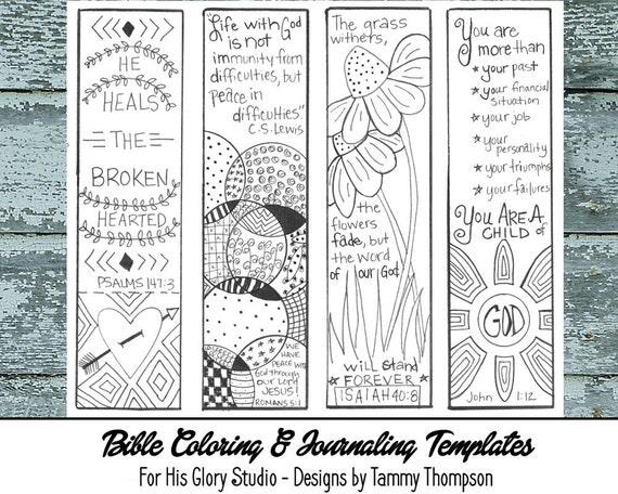 Bible Journaling Encouraging #3 - bible journaling, black & white ...