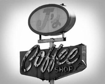 J's Coffee View 2 - 11x14 Fine Art Photographic Print