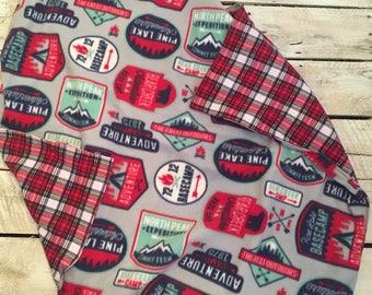 Plaid/ adventurer blanket