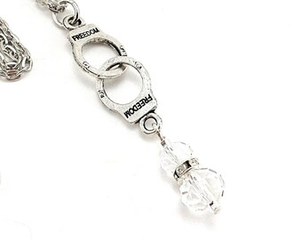 50 shades of Grey handcuffs whit crystal and Rhine.