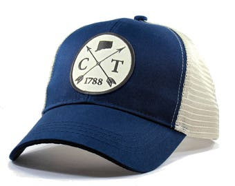 Homeland Tees Connecticut Arrow Hat - Trucker