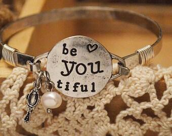 Be-YOU-tiful Cuff Bracelet