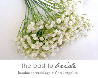 Baby's Breath, artificial, faux Baby's Breath, Baby's Breath flower crown, Baby's Breath Bouquet, Baby's Breath boutonniere, wedding
