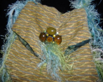 Fringed Gypsy Handbag
