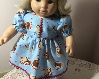 Doll dress for 15 inch baby dolls