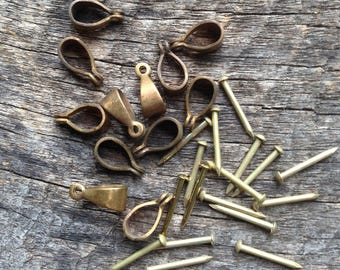 Brass Bail and Rivet Kit