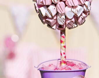 Marshmallow Sweet Tree drizzled with Belgian Chocolate. Sweet Bouquet. Marshmallows. Sweet Gift. Sweet Hamper.Perfect Gift. Candy Tree