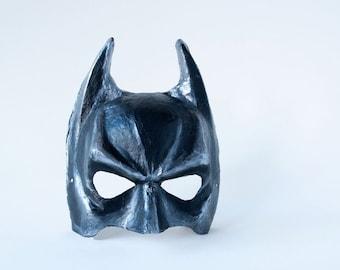 Batman-Inspired Mask, Bruce Wayne, Men's Masquerade Mask, Mens Mascarade Mask, Venetian Mask, Mens Mardi Gras Mask - The Bruce