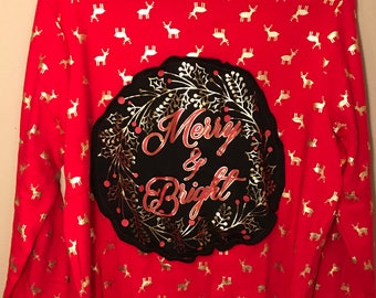 Merry and Bright Sweater (Womens XL)