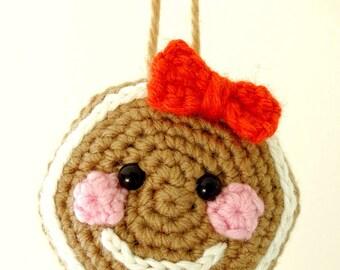 Gingerbread man, gingerbread girl, gingerbread Christmas decoration