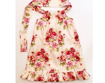 Floral sundress/baby dress/floral dress for toddlers/backless dress baby/summer dress kids/birthday dress/baby gift/cake smash outfit