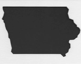 Pack of 3 Iowa State Stencils Made From 4 Ply Mat Board 11x14, 8x10 and 5x7 -Package includes One of Each Size