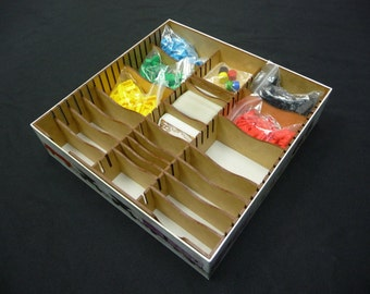 Ticket to Ride Box Organizer Insert
