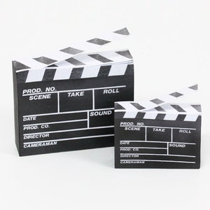 Movie Clapperboard Sticky Notes / Movie Clap / Clapboard Notepads / Film Slate Notepads / Fun Stationery / Memo pad / Scrapbooking / Journal