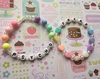 Psycho & Freak Bracelet Set