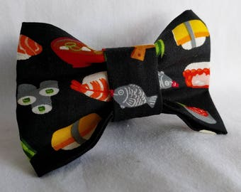 Sushi Lobster-Seafood-Foodie- Dog Collar Bow Tie- Pet Accessory- Pet Supplies- Collar Attachment