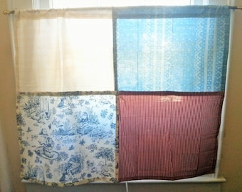 Handmade Window Patchwork Curtain Choose Yours!