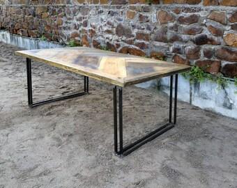 Lumber Table Yael 180 x 96 cm