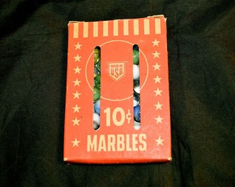 Marbles 50 in Original Box Made in USA