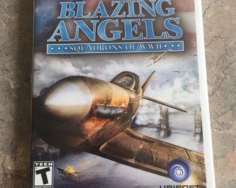 Nintendo Wii Blazing Angels Squadrons of WWII Nintendo Wii