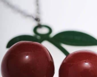 Cherry necklace