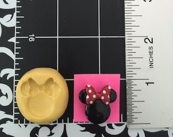 Mikey and Minnie heads...silicone molds set