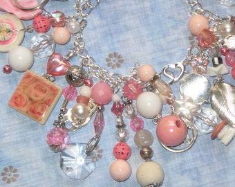 In The Pink Charm Bracelet