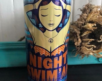 Craft Beer Can Candle