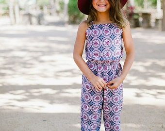 Instant Download- Tahiti Romper (Sizes 9/12 months to 12) PDF Sewing Pattern and Tutorial
