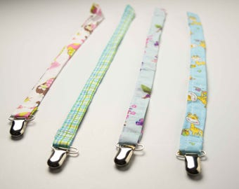 sold in pairs Pacifier clip